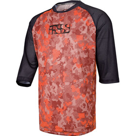 IXS Vibe 8.1 Bike Jersey Shortsleeve Men red/black